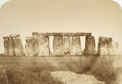 Stonehenge, General View From (G) On The Line Of The Central Entrance